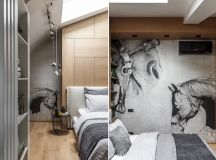 2 Gorgeous Attic Apartments That Use Grey As Base images 32