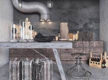 Two Examples Of Industrial Modern Rustic Interior Design images 9