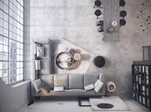 Two Examples Of Industrial Modern Rustic Interior Design images 0