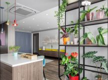 Apartment With Energised Colour Scheme images 8