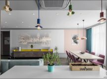 Apartment With Energised Colour Scheme images 6