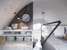 Two Examples Of Industrial Modern Rustic Interior Design images 13