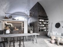 Two Examples Of Industrial Modern Rustic Interior Design images 4