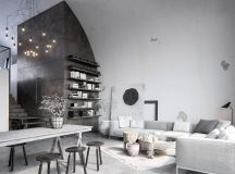 Two Examples Of Industrial Modern Rustic Interior Design images 3