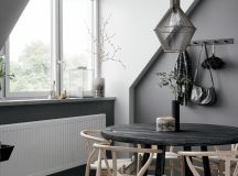 2 Gorgeous Attic Apartments That Use Grey As Base images 6