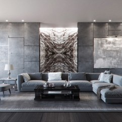 Pictures Of Grey Living Room Walls Modern Carpet 40 Rooms That Help Your Lounge Look Effortlessly Stylish 16 Visualizer Varayut Denthlordkarn
