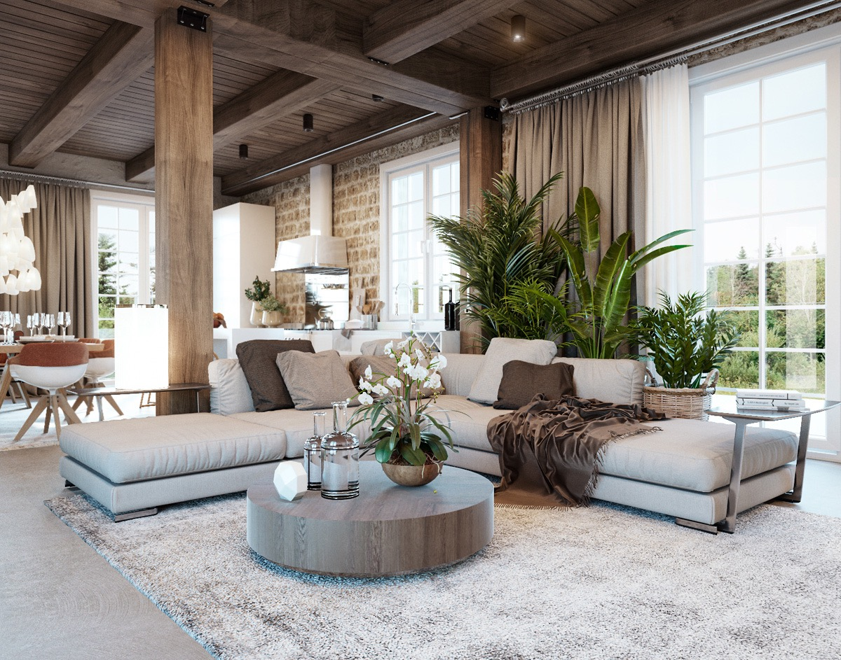 Detailed Guide  Inspiration For Designing A Rustic Living
