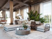 Detailed Guide & Inspiration For Designing A Rustic Living Room images 7