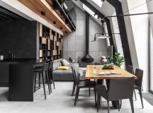 2 Gorgeous Attic Apartments That Use Grey As Base images 18
