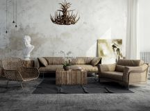 Detailed Guide & Inspiration For Designing A Rustic Living Room images 24