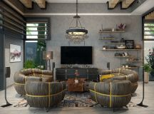 40 Grey Living Rooms That Help Your Lounge Look Effortlessly Stylish and Understated images 38
