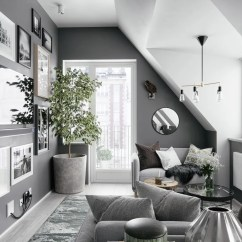 Living Room Inspiration Grey Sofa Decorating Ideas Gray Couch 40 Rooms That Help Your Lounge Look Effortlessly Stylish 9