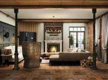 Detailed Guide & Inspiration For Designing A Rustic Living Room images 9