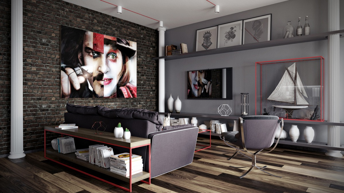 living room color ideas grey paint colors with dark furniture 40 rooms that help your lounge look effortlessly stylish 5 source archvizer