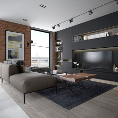 Living Room Design With Grey Walls Interior Ideas 40 Rooms That Help Your Lounge Look Effortlessly Stylish And Understated