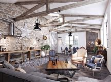 Detailed Guide & Inspiration For Designing A Rustic Living Room images 0