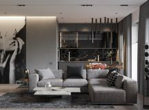 40 Grey Living Rooms That Help Your Lounge Look Effortlessly Stylish and Understated images 24