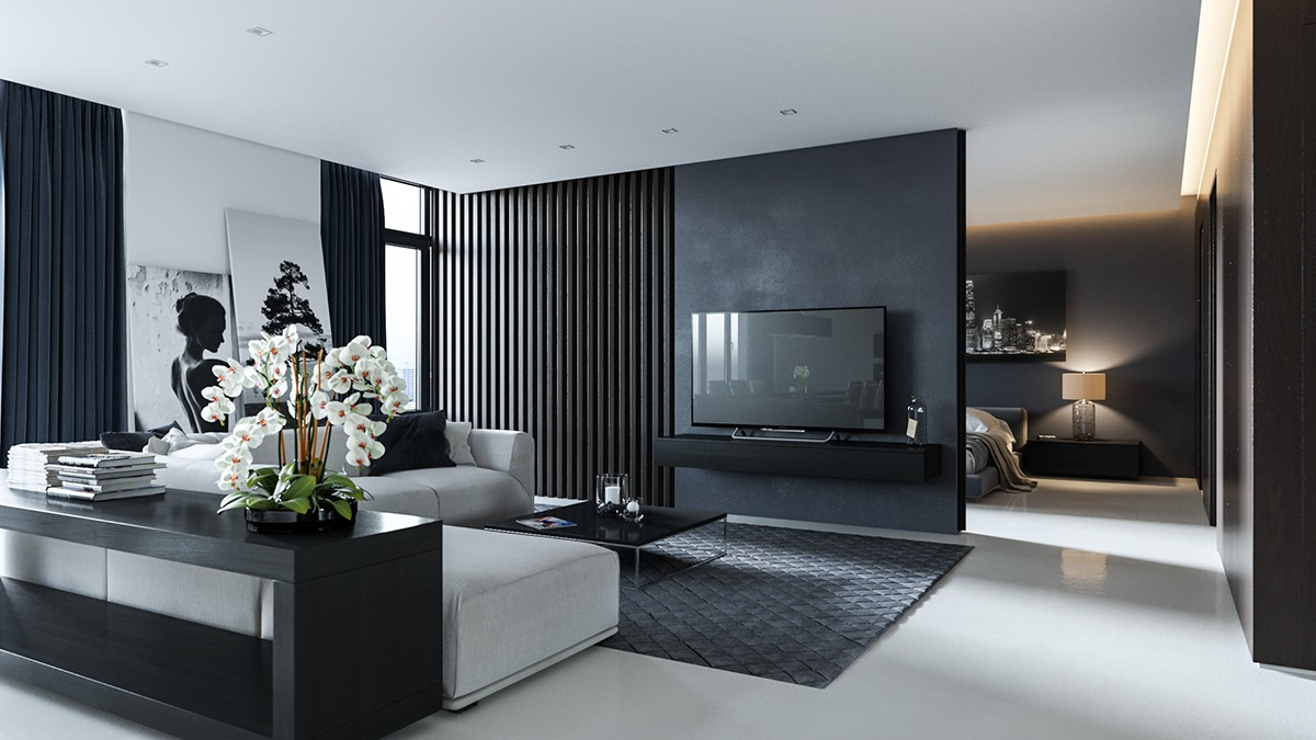 decorating ideas for living rooms with grey walls room accent wall brown furniture 40 that help your lounge look effortlessly stylish and understated