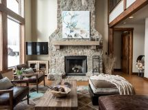 Detailed Guide & Inspiration For Designing A Rustic Living Room images 1