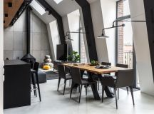 2 Gorgeous Attic Apartments That Use Grey As Base images 20