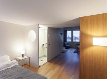 Compact Multifunctional Flat With Zoning Ideas images 18