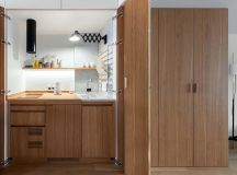 Compact Multifunctional Flat With Zoning Ideas images 9