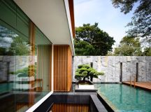 The Contemporary Home Of A Majestic Pre-War Rain Tree images 3