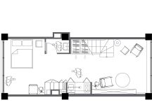 Compact Multifunctional Flat With Zoning Ideas images 28