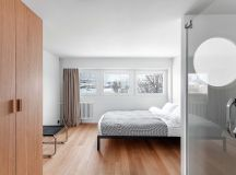 Compact Multifunctional Flat With Zoning Ideas images 16
