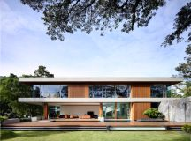 The Contemporary Home Of A Majestic Pre-War Rain Tree images 0