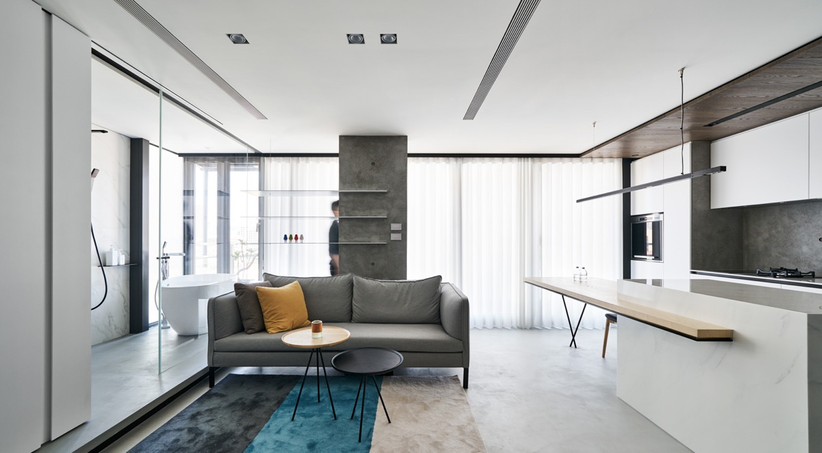 Superb Although All Areas Of This Home Are Able To Merge As One, If More Than One  Person Is Present Then Privacy Can Be Achieved By Manipulating Sliding  Doors And ...