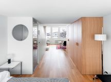 Compact Multifunctional Flat With Zoning Ideas images 19