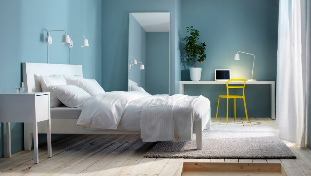 30 Buoyant Blue Bedrooms That Add Tranquility And Calm To Your Sleeping Space