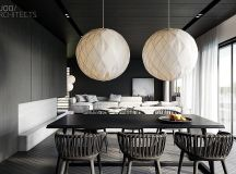 33 Black Dining Rooms That Your Dinner Guests Will Adore images 26