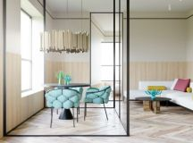 Colourful Interiors With Connection: Green, Coral, Blue ...