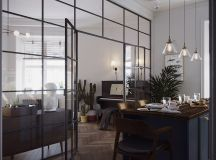 Earthy Eclectic Scandinavian Style Interior images 11