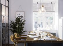 Earthy Eclectic Scandinavian Style Interior images 10
