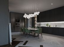 Modern Dark Interior Design images 12