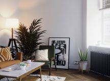 Earthy Eclectic Scandinavian Style Interior images 4