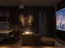 Modern Dark Interior Design images 2