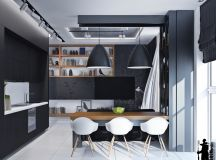 33 Black Dining Rooms That Your Dinner Guests Will Adore images 15