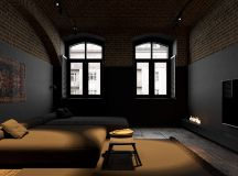 Modern Dark Interior Design images 22