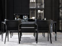 33 Black Dining Rooms That Your Dinner Guests Will Adore images 25