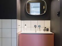 Scandinavian Style Interior With Pink And Blue Accents images 16