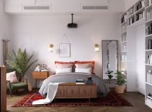 Earthy Eclectic Scandinavian Style Interior images 15