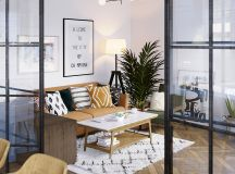 Earthy Eclectic Scandinavian Style Interior images 2