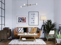Earthy Eclectic Scandinavian Style Interior images 0