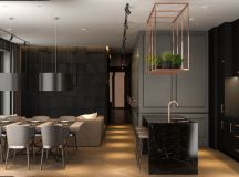 Modern Dark Interior Design images 3