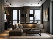 Modern Dark Interior Design images 0