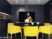 33 Black Dining Rooms That Your Dinner Guests Will Adore images 1